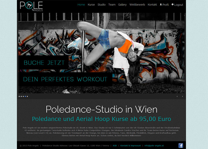 Pole Angels Polestudio Wien